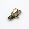 Кольцо Лелека бронза