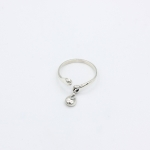 Перстень НЕВАГОМА КРАПЕЛЬКА silver 925 (невесомая капелька / крапля)