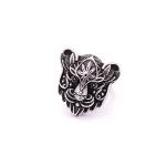 Перстень БІЛА ПАНТЕРА (белая пантера)
