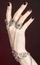 Браслет ДІНАРА з перстнями (динара с кольцами)
