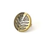 Кольцо Заграва, большое, бронза
