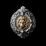 Кольцо Золотой Лев (вставка - бронза)