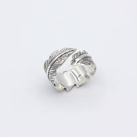 Перстень БІЛЕ ПІР'ЯЧКО silver 925° (белое перо)